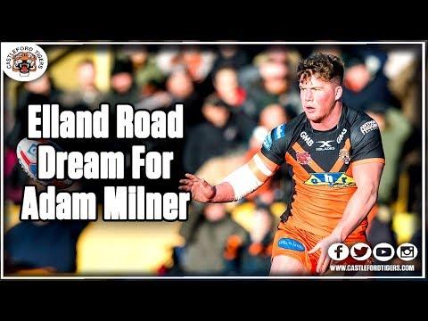 Elland Road Dream For Adam Milner