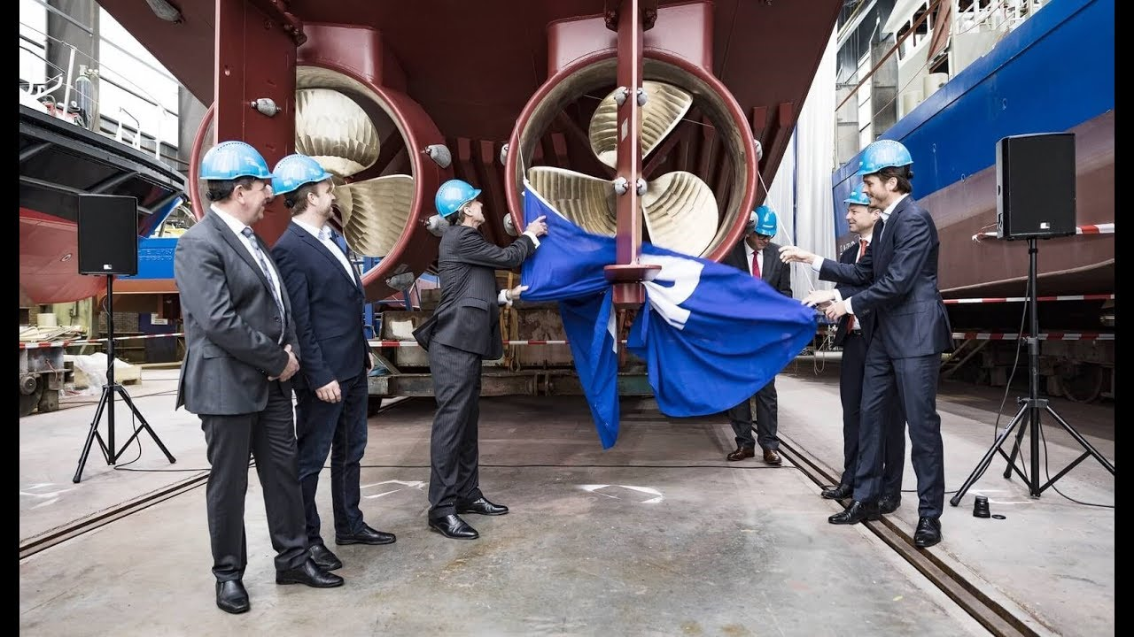The unveiling of WAAMpeller; world's first 3D printed propeller