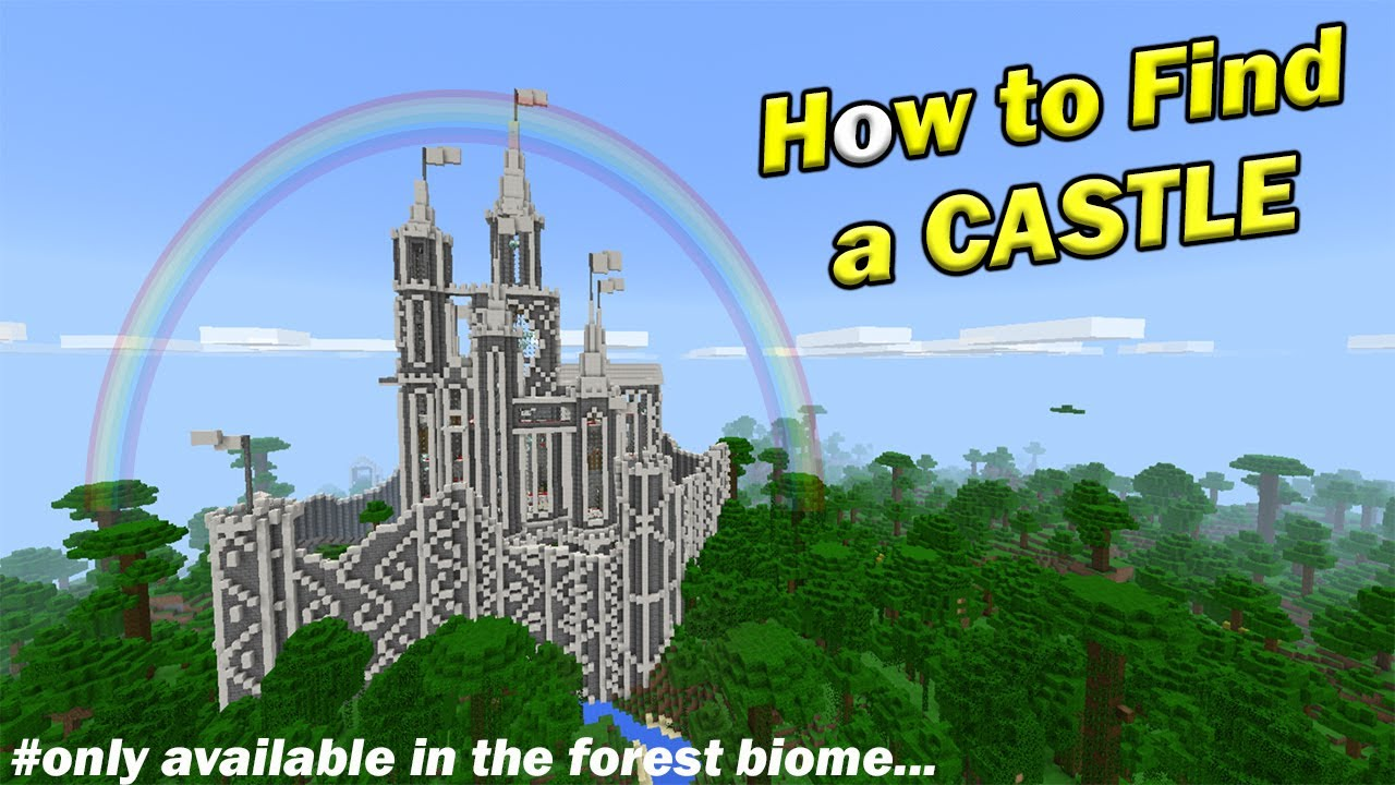 How to Find a CASTLE  Minecraft PE