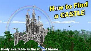 How to Find a CASTLE | Minecraft PE