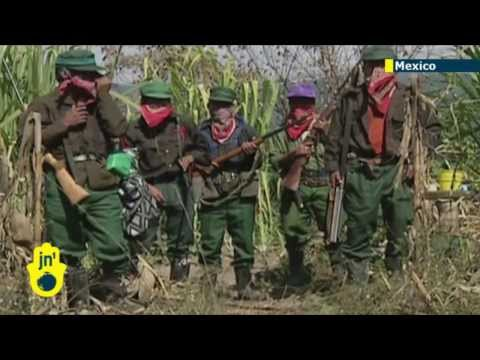 Zapatista rebellion anniversary: Thousands gather in Mexico to remember 20 years since uprising