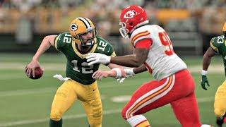 Madden 20 Gameplay - Kansas City Chiefs vs Green Bay Packers – CPU vs CPU Madden NFL 20