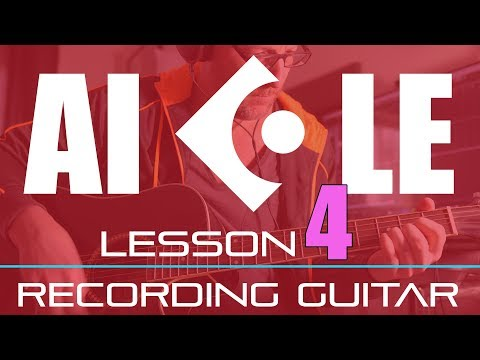 Getting Started In Cubase AI LE Elements Lesson 4 of 6 – Recording Guitar