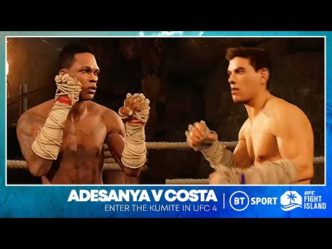 Stunning win for Israel Adesanya over Paulo Costa in our UFC 4 Simulation!