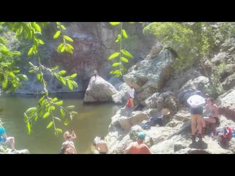 Santa monica mountain hike