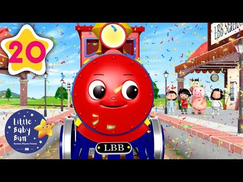 Learning Colors And Vehicles For Kids | Colour Train Song | Little Baby Bum