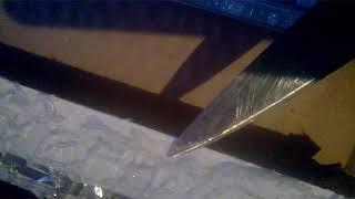 разборка солнечной панели 100 ватт и попытка ремонта