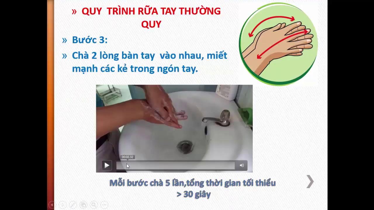 6 bước rửa tay thường mới nhất | bác sĩ kiệt #1
