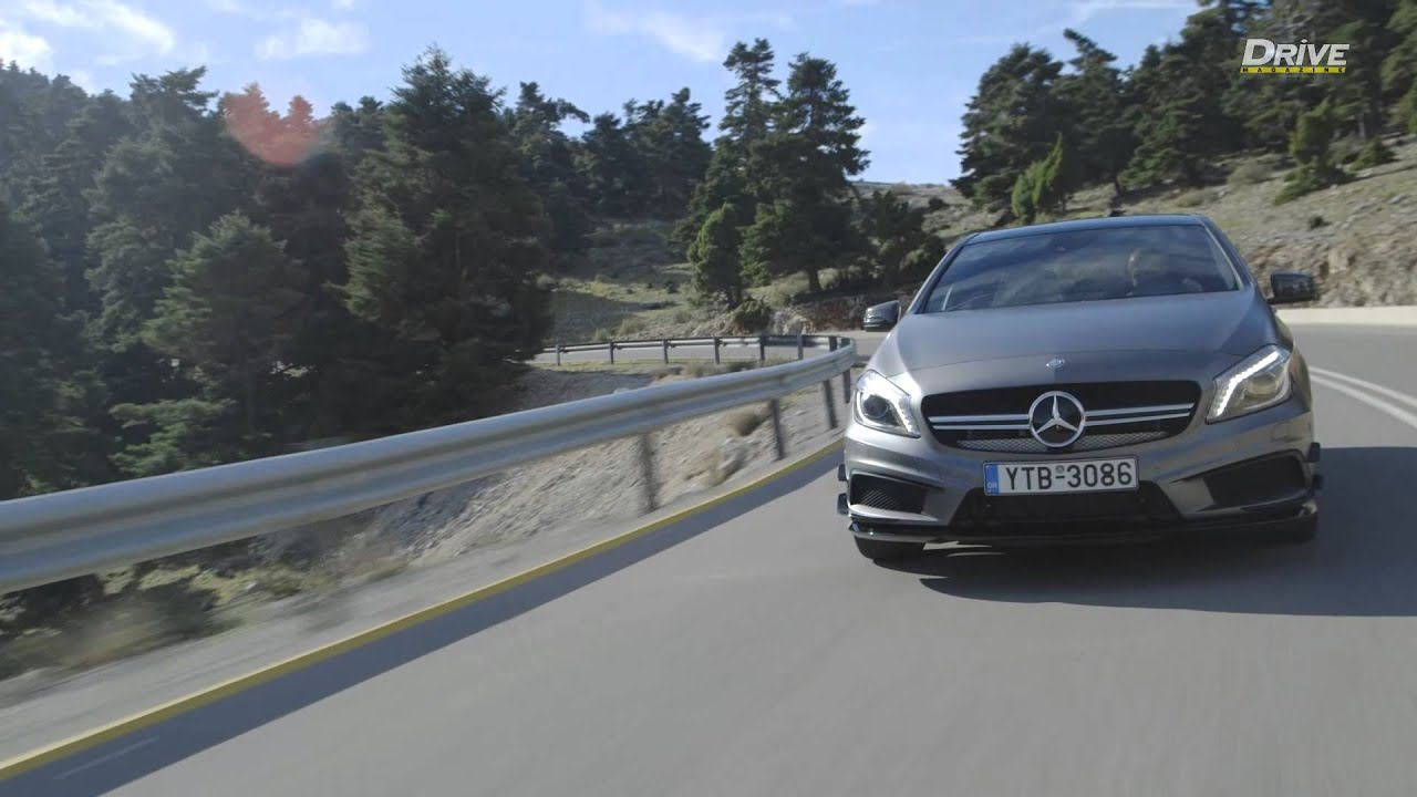 Test mercedes benz a45 amg doovi for Mercedes benz official site usa