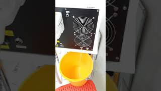 как поменять воду в лазере skin one ultra2