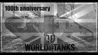 MK I WW1 tank - World of Tanks Blitz