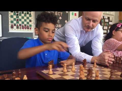 Teaching Kids Chess at CAI Learning Academy