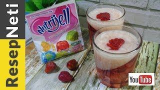 Puding Strawberry Nutrijell