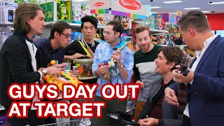 THE TRY GUYS AND HANSON EXPLORE TARGET AND MAKE MUSIC
