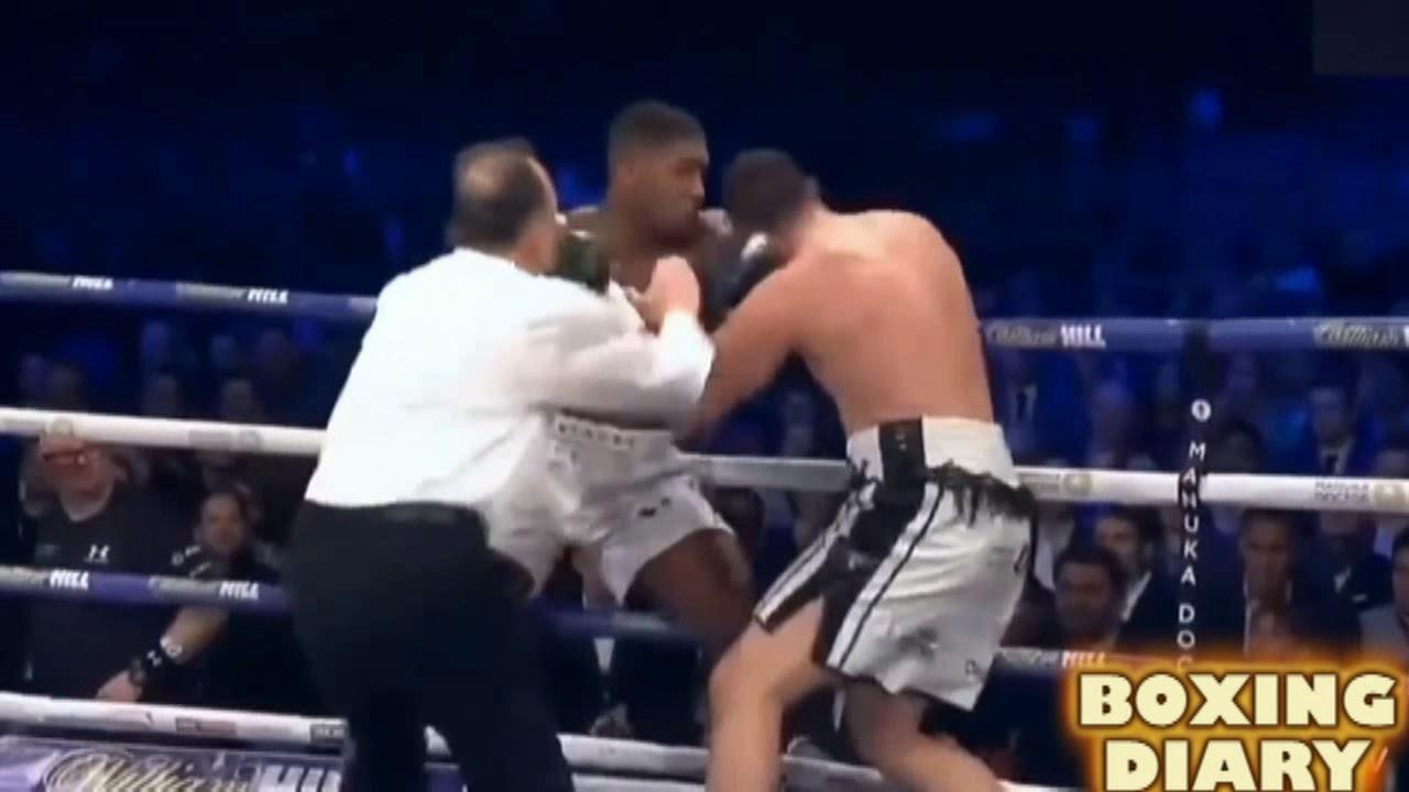 Anthony Joshua vs Joseph Parker Fight Highlights
