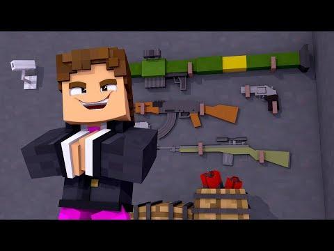 Minecraft - SALA SECRETA DE ARMAS ! - PARQUE DOS DINOSSAUROS 2  ‹ LOKI ›