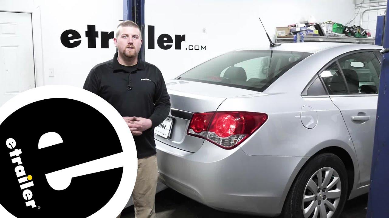 Etrailer Demco Tail Light Wiring Bulb And Socket Kit Installation 2011 Chevrolet Cruze Youtube