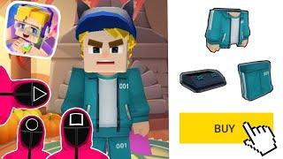 NEW SQUID GAME CUSTOM SKIN In Blockman Go screenshot 3