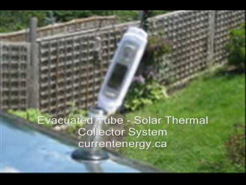CURRENTENERGY.CA - Boiling Over LS60 - Evacuated Tube Solar Thermal Collector - Barrie ON Canada