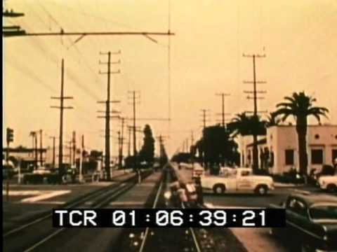 Ride The Last Red Car Los Angeles April 1961