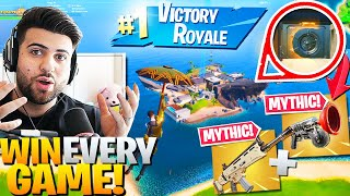 How To Win EVERY GAME In Season 2 Using MYTHIC ITEMS! - Fortnite Educational Commentary