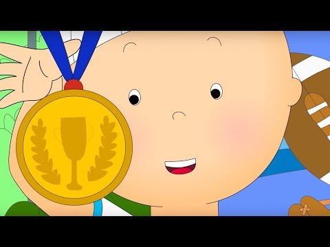 Caillou and Sports Day   Caillou Cartoon