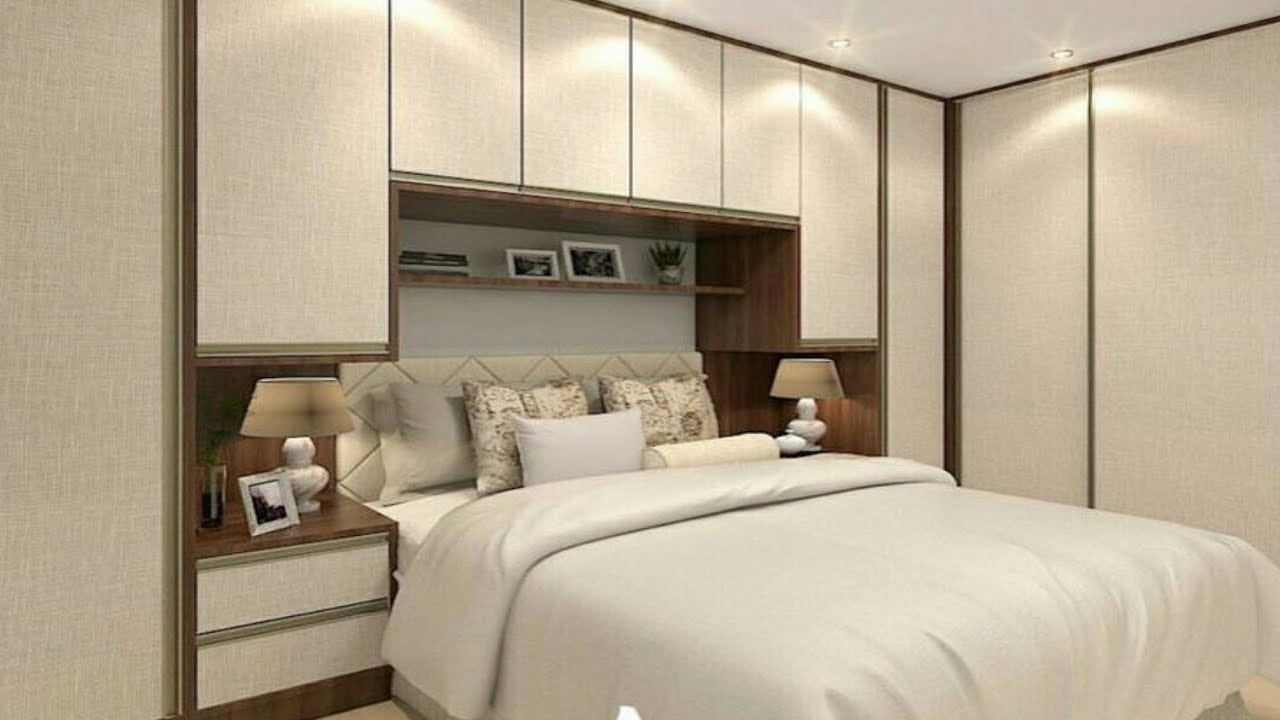 100 Modern bedroom wall decorating ideas 2020 - YouTube