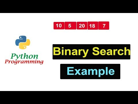 Binary Search in Python Programming | Example thumbnail