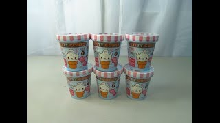 Kitty Cones Series 1 Erasers!// Opening