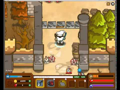 Dungeon rampage:A utilidade dos personagens