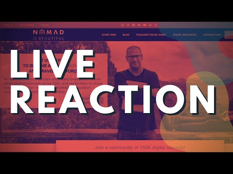 Live Reaction -  Nomad Is Beautiful