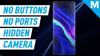 Vivo's Concept Phone Has ZERO Ports, ZERO Buttons, And A HIDDEN Camera | Mashable News