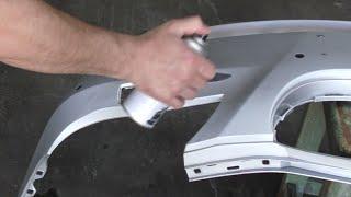 видео Техника покраски бампера своими руками из баллончика