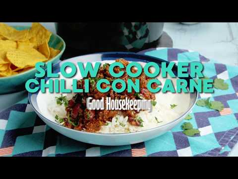 Slow Cooker Chilli Con Carne | Good Housekeeping UK