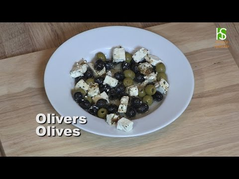 Simply Sprinkle Olives Marinated With Feta Cheese Persian Style