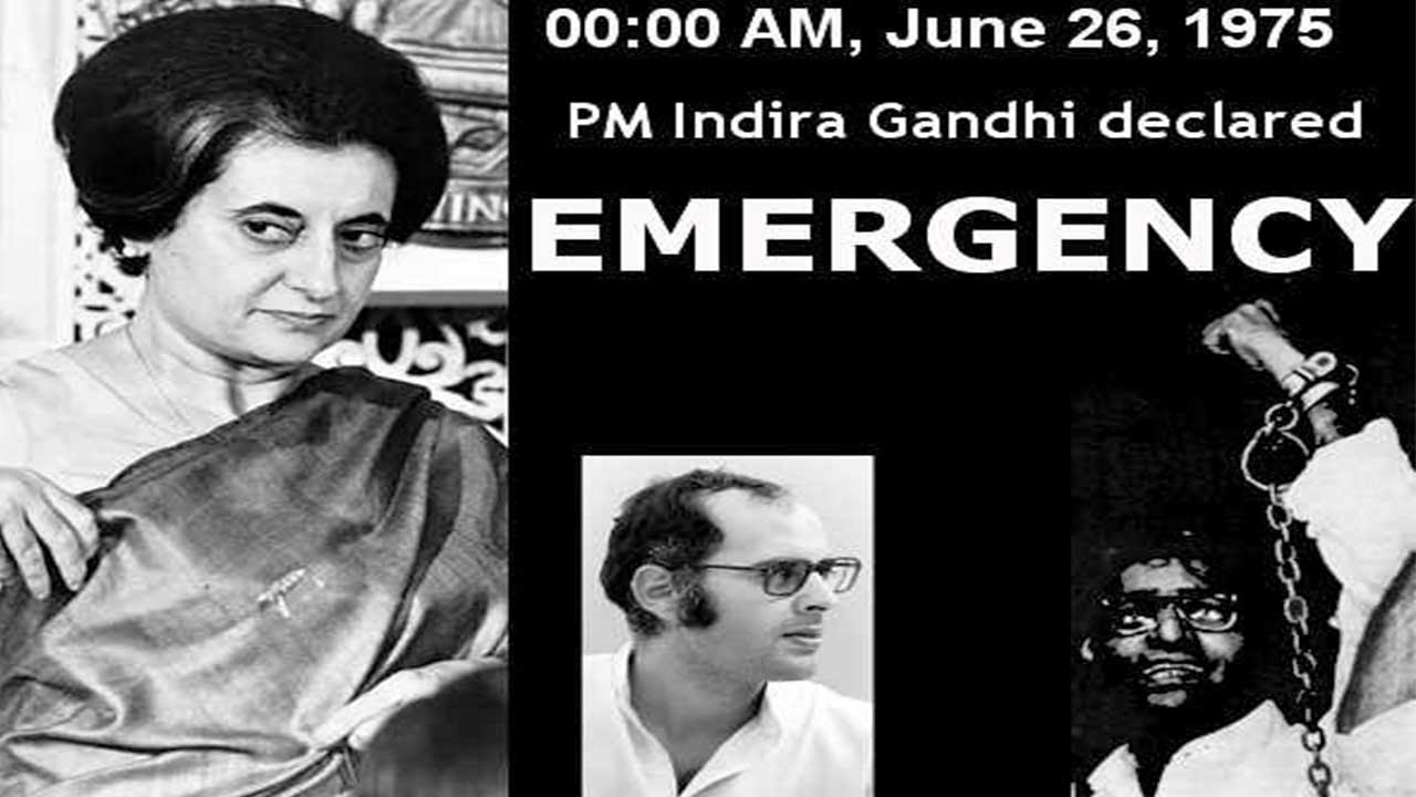 Image result for emergency indira gandhi