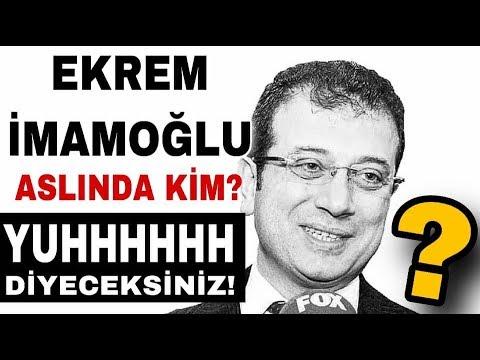 CHP İstanbul Büyükşehir Belediye Başkan Adayı EKREM İMAMOĞLU Aslında Kimdir?
