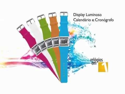 d572c3bd53548 Mormaii Relógio Acquarela Troca Pulseiras Digital (HD) ▻http   j.mp 10wsRtl  - YouTube