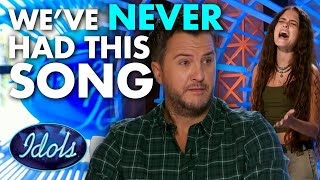 WE HAVE NEVER HAD SOMEONE SING THIS SONG | Idols Global