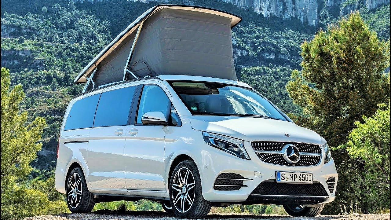 2019 mercedes marco polo 300 d luxurious camper van. Black Bedroom Furniture Sets. Home Design Ideas