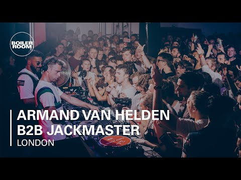 Armand Van Helden B2B Jackmaster - Boiler Room x Ray-Ban 009 - London