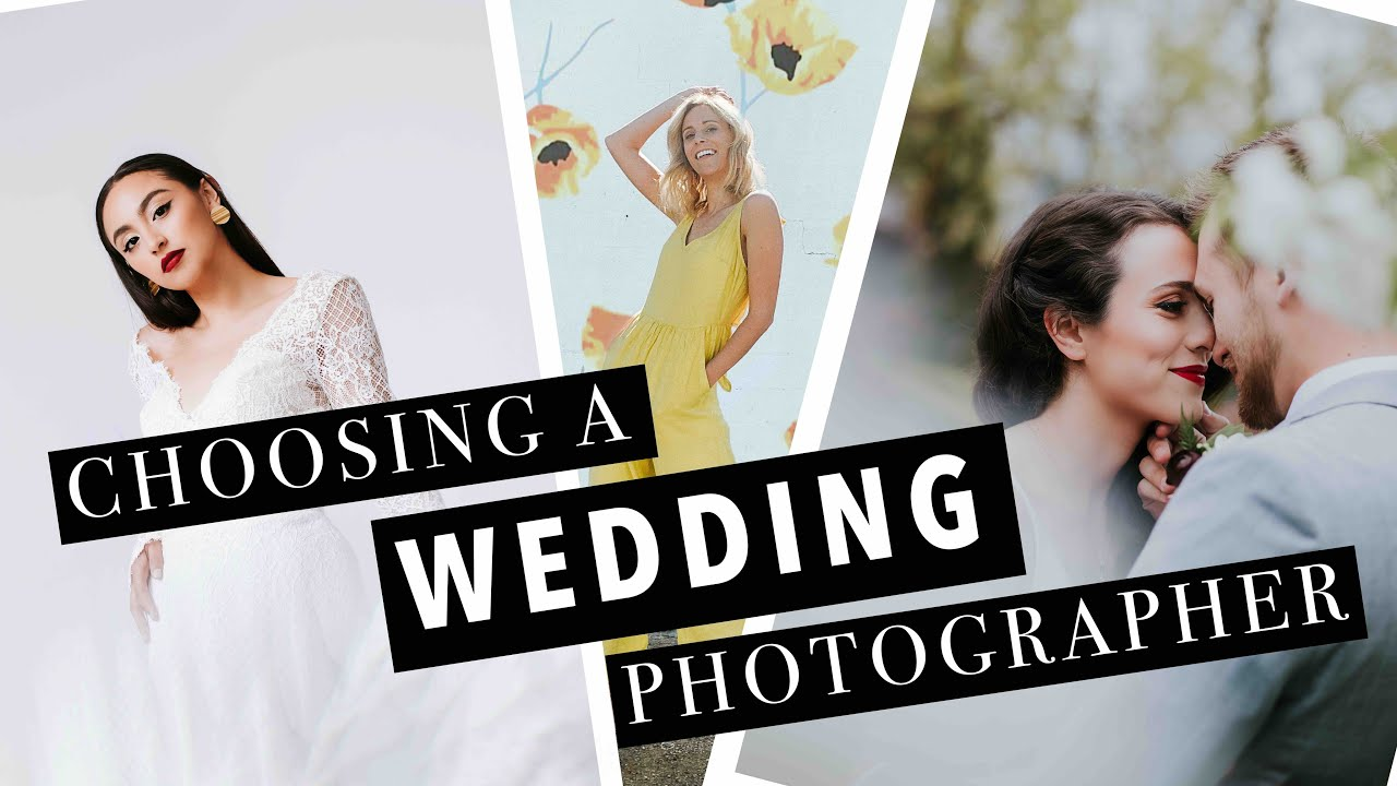 CHOOSING A WEDDING PHOTOGRAPHER | Advice from the Pros