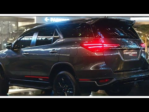 2020 Toyota Fortuner Black Edition TRD | Next Generation Fortuner - Best SUV India