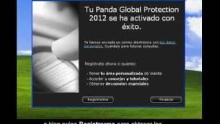 Cómo activar Panda antivirus 2012 - Tutorial de Soporte Panda Security