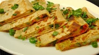 Spring Onion Paratha - Indian Recipe by Madhura