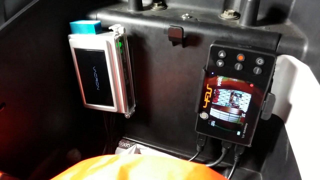 SGH ALPHA α 車機型 行車記錄器 VS 真相行車記錄器開機時間 - YouTube