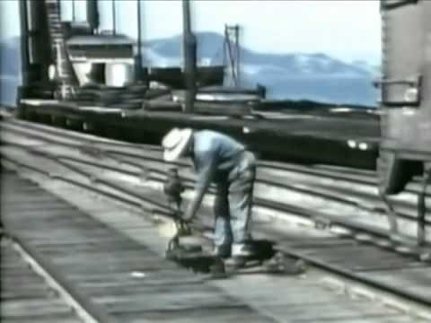 Santa Fe RailRoad Pay Day - 1950's American Trains - WDTVLIVE42