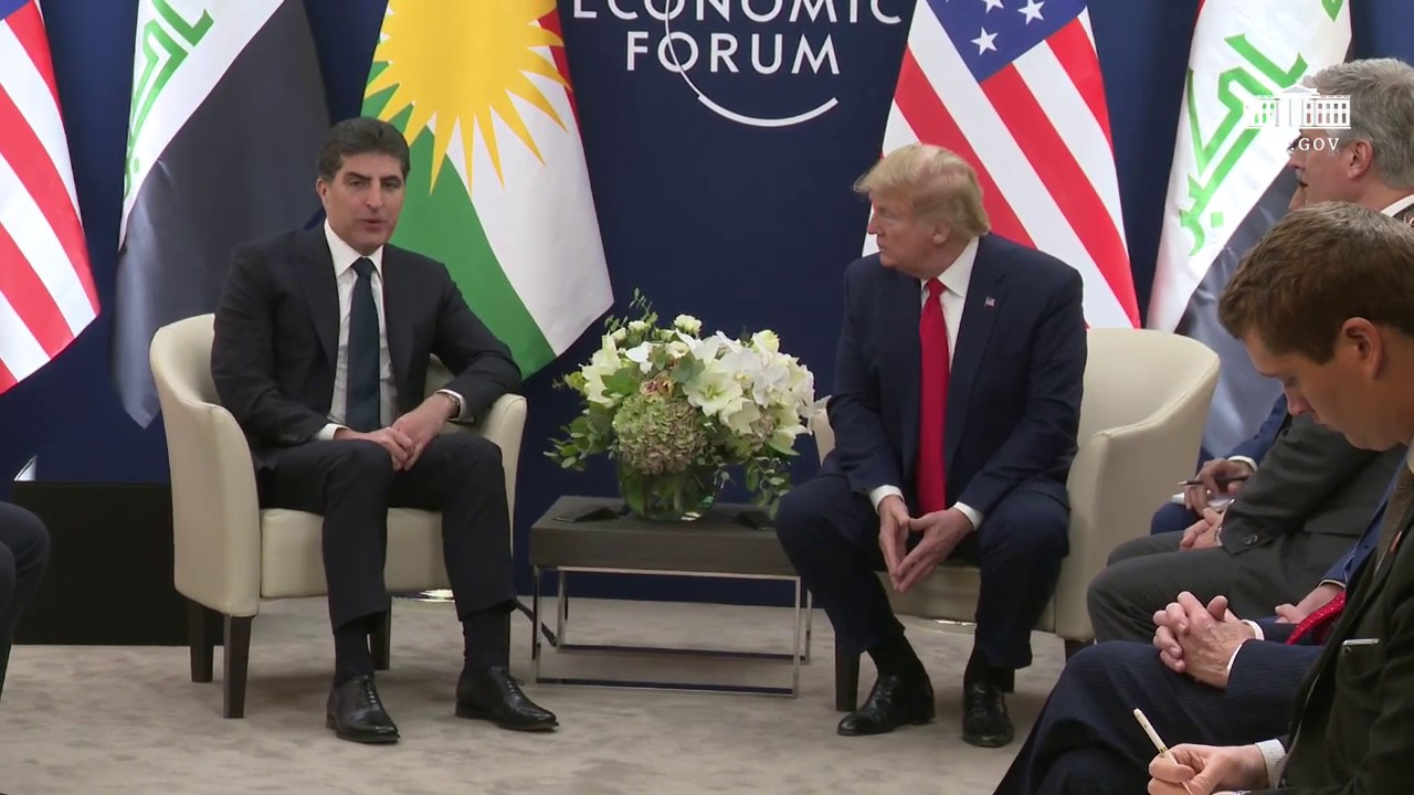 President Trump Participates in a Bilateral Meeting with the President of Kurdistan- The White House