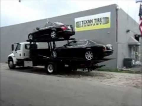 2005 International 4400 Dt466 Tow Truck Youtube