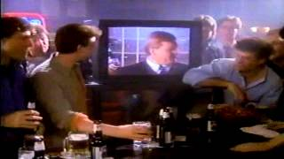 March 1990 Dan Dierdorf Miller Lite commercial hanging out with the guys less filling tastes great Thumbnail